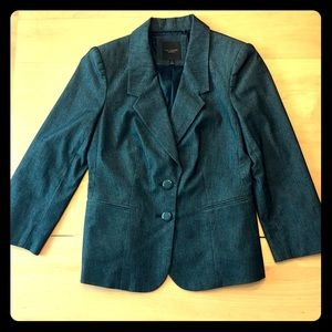 The Limited Collection charcoal blazer